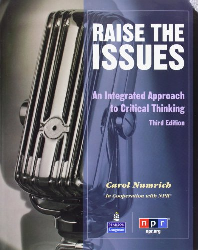 Raise the Issues: An Integrated Approach to Critical...