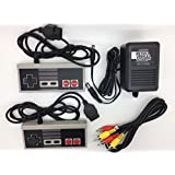 NES Nintendo Two NES Controllers, AV Cable and Power Adapter Bundle for the Original NES Nintendo Console System TBGS