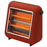 ±0 Infrared Electric Heater レッド
