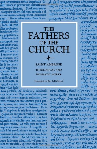 Theological and Dogmatic Works (Fathers of the Church Patristic Series)