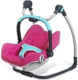 Smoby - 520691 - Mobilier De Poupée - Bébé Confort Siège + Chaise Haute 3 en 1