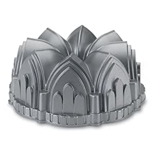 Nordic Ware Platinum Collection Cathedral Bundt Pan