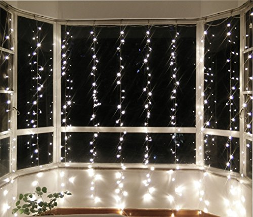 Lebefe-984ft-x-984ft-300-Led-Icicle-Curtain-Lights-Christmas-Lights-Wedding-Lights-String-Lights-for-Home-Decor-With-Memory-Function-Controller