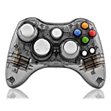 Kycola GC21 Wireless LED Gamepad Controller for Xbox 360 and PC(Black)