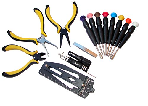 Silverhill Tools Atkrch 15 Piece Rc Helicopter Tool Kit