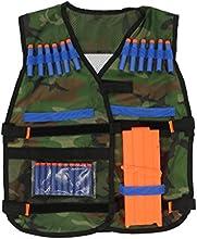 Accesorios de Armas NERF Chaleco Táctico Ajustable Camo