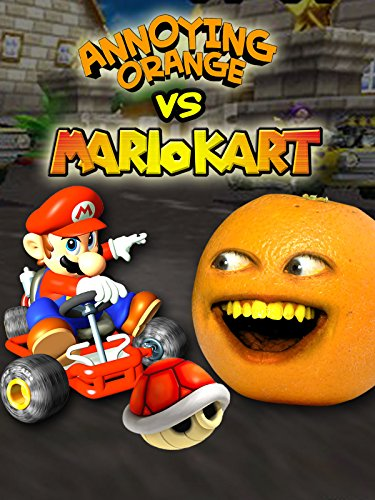 Annoying Orange vs Mario Kart