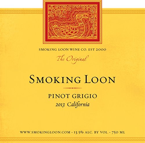 2013 Smoking Loon Pinot Grigio 750 Ml