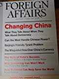 img - for Foreign Affairs (Changing China - January / February 2008, Volume 87, Number 1) book / textbook / text book