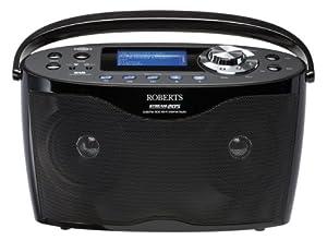 Robert Stream 205 Stereo DAB/FM/WiFi Internet Radio - Black