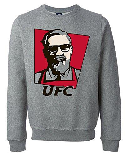 Conor McGregor UFC KFC Parody Funny Unisex Maglione Felpa Medium