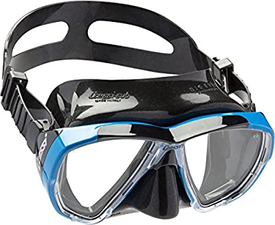 Cressi Big Eyes 2-Lens Diving Mask (includes protective carry box)