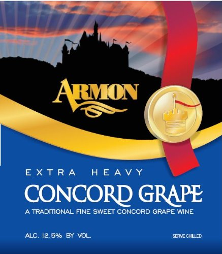 Nv Armon Extra Heavy Concord New York Red Wine 750 Ml