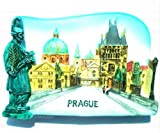 Charles Bridge Prague City of the Czech Republic EuropeMagnet Souvenir Thailand Handmade Design