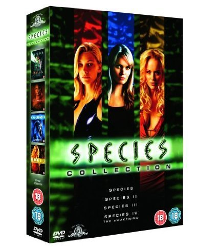The Complete Species DVD Movie Collection [4 Discs] Boxset: Species / Species 2 / Species 3 / The Awakening by Forest Whitaker