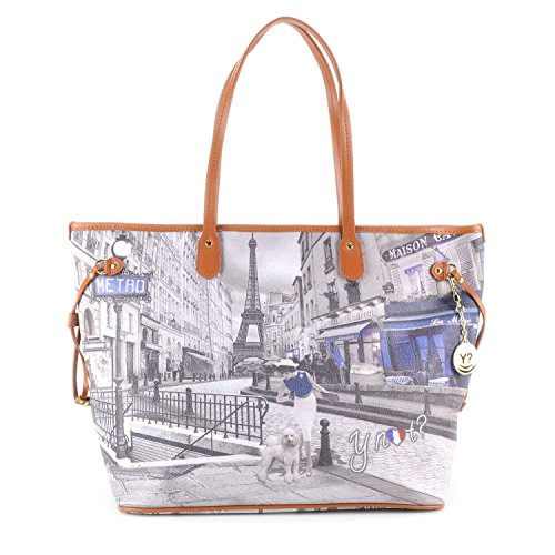 Borsa Shopping maxi Y Not - G356 Metro Parisienne