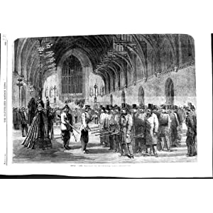 1860 rifle corps practice westminster hall london