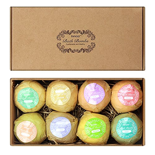 Innoo Tech 8 Bath Bombs Set Bath Beauty Set