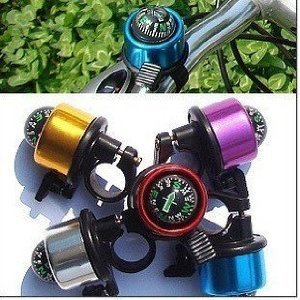 COCOサイクル&アウトドア 自転車用ベル 方位磁石