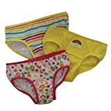 Carter's Girls 2-6x Girls 3 Pack Briefs Rainbow Print Panty