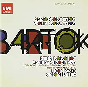 Concertos Pour Piano, Concertos Pour Violon