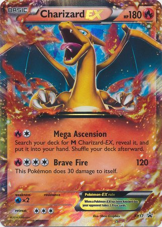 Pokemon - Charizard EX (17) - Pokemon Promos - Holo