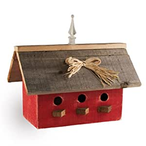 Large Birdhouse - Red Barn