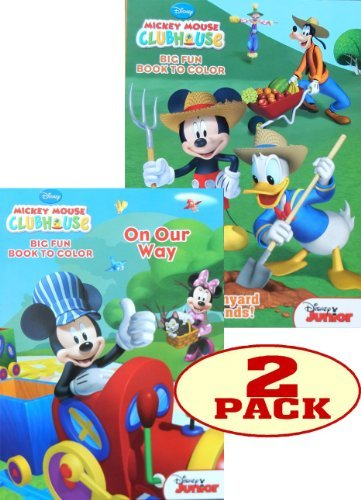 Mickey Mouse Coloring Set of 2 - 1
