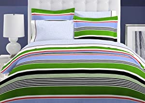 Tommy Hilfiger Derby Collection Duvet Set, Full/Queen