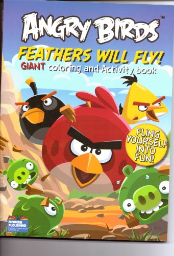 Angry Birds Feathers Will Fly! Coloring and Activity Book (Angry Birds Color Book compare prices)