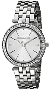 Michael Kors Women's Darci Silver-Tone Watch MK3364