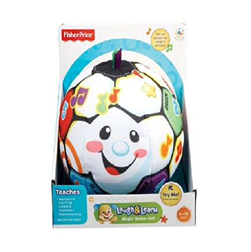 Fisher-Price Laugh & Learn Singin' Soccer Ball 1 ea