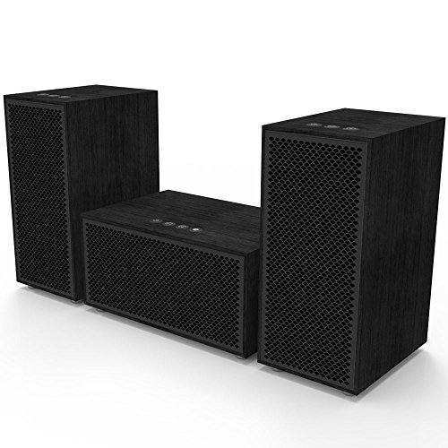 Multiroom Audio System - 3 Speaker Package - Includes 1 Master Speaker + 2 Satellite Speakers
