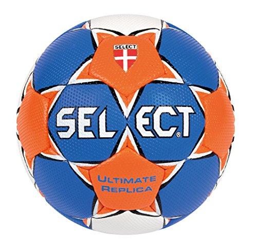 Select, Palla da pallamano Ultimate Replica, Arancione (Blau/Orange/Weiß), 2