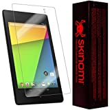 Skinomi® TechSkin - Google Nexus 7 (2nd Generation) Screen Protector Premium HD Clear Film (2013) with Lifetime Replacement Warranty / Ultra High Definition Invisible and Anti-Bubble Crystal Shield - Retail Packaging (Model(s): Wi-Fi)