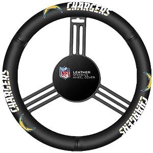 Fremont Die San Diego Chargers Steering Wheel Cover by Fremont Die