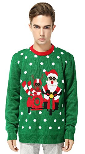 Christmas Snowman Santa Sweater