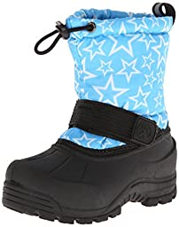 Northside Frosty Winter Boot (Toddler/Little Kid/Big Kid),Turquoise/White,11 M US Little Kid