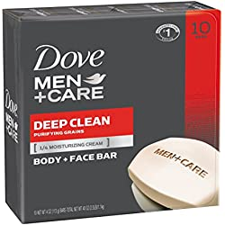 10-Pack Dove Men+Care Body and Face Bar 4 oz