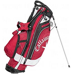 Callaway Hyper Lite 4.5 Stand Bag, Red