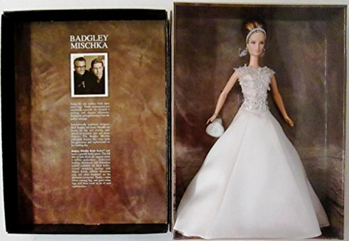 Badgley Mischka Bride Barbie Doll Collectible Limited Edition Golde Label