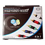 echange, troc WII XBOX 360 PS2 PS3 4 IN 1 COMPONENT CABLE PLAYSTATION [import anglais]