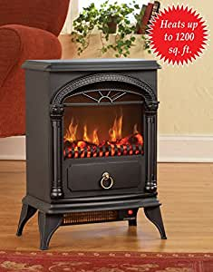 Electric Fireplace Vintage Style Heater