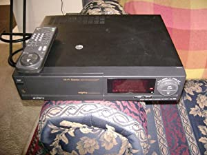 SONY DIGITAL 4 HEAD STEREO VCR HI-FI SLV-595HF W/ VCR PLUS