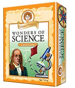 Educational Trivia Card Game - Professor Noggin's Wonders of Science