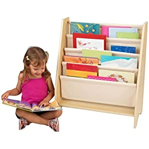 Kidkraft Sling Bookshelf - Natural from KIDKRAFT (DropShip)