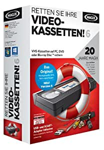 MAGIX Retten Sie Ihre Videokassetten 6 (Jubiläumsaktion inkl. Foto Manager MX Deluxe)