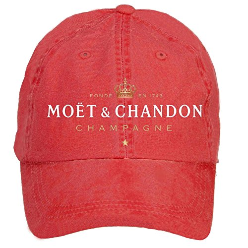 nusajj-moet-chandon-champagne-adult-unstructured-100-cotton-sports-hats-design-red-one-size