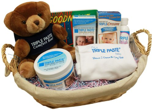 Triple Paste Baby Care Gift Basket - 1