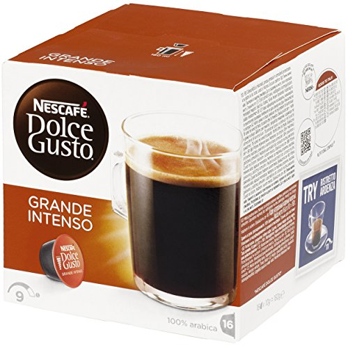Find Nescafe Dolce Grande Intenso Coffee Pods - Pack of 3 (16 Capsules x 3, 48 servings) by Nestle